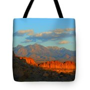 The Ever Changing Beauty Of Monolith Gardens Tote Bag