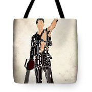 The Evil Dead - Bruce Campbell Tote Bag