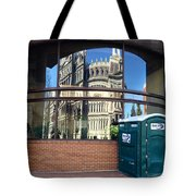 The Executive Office Building Reflection  Tote Bag