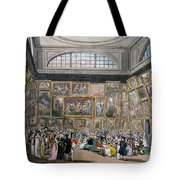 The Exhibition Room At Somerset House Tote Bag