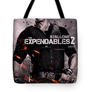 The Expendables 2 Stallone Tote Bag