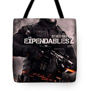The Expendables 2 Statham Tote Bag