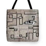 The Eye Of Big Brother Tote Bag