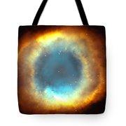 The Eye Of God-helix Nebula Close Up Tote Bag