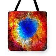 The Eye Of Heaven Tote Bag