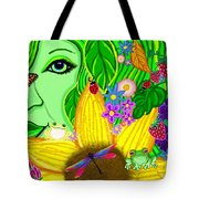The Eye Of Mother Nature Tote Bag
