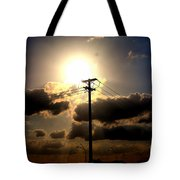 The Eye Of The Evening Sun Tote Bag