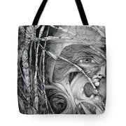 The Eye Of The Fomorii - Regrouping For The Battle Tote Bag