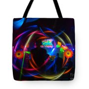 The Eye Of The Rave Tote Bag
