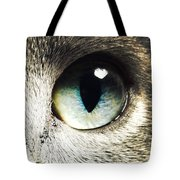 The Eye Of The Russian Blue Tote Bag