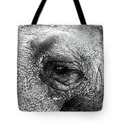 The Eye That Never Forgets Tote Bag by John Rizzuto
