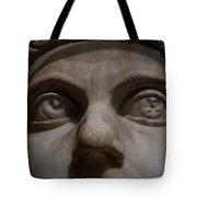 The Eyes Of Constantine Tote Bag