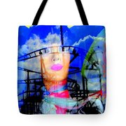 The Eyes Of Miss Coney Island Tote Bag