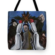 The Fable Of The Fish Tote Bag