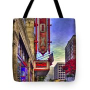 The Fabulous Fox Atlanta Georgia. Tote Bag