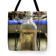 The Face In The Bottle  Tote Bag