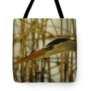 The Face Of A Heron Tote Bag