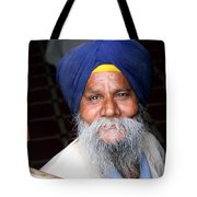 The Face Of Serenity Tote Bag