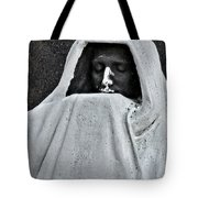 The Face Of Death - Graceland Cemetery Chicago Tote Bag