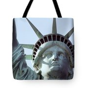 The Face Of Liberty  Tote Bag
