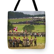 The Face-off Tote Bag