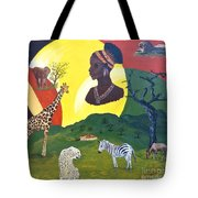 The Faces Of Africa Tote Bag