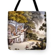 The Fair Penitent, From Ackermanns Tote Bag by English School