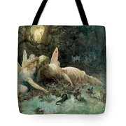 The Fairies From William Shakespeare Scene Tote Bag