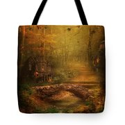 The Fairy Forest In The Fall Tote Bag