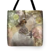 The Fairy Of Winter Lights Tote Bag
