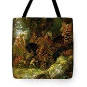 The Fairy Raid Tote Bag