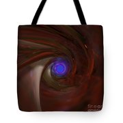 The Falcon's Eye   Ultra Violet Vision Tote Bag