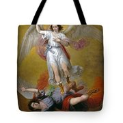 The Fall Of Lucifer Tote Bag