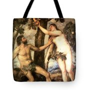 The Fall Of Man Tote Bag