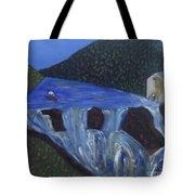 The Falls Of Cenarth Tote Bag