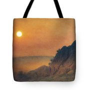 The False Lovers' Rock At Sunset Tote Bag