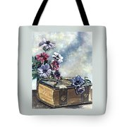 The Family Bible Graced By Anemones Tote Bag