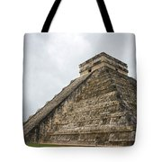The Famous Kulkulcan Pyramid At Chichen Itza Tote Bag