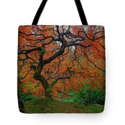 The Famous Tree At Portland Japanese Garden Tote Bag