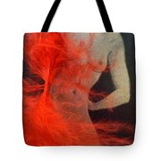 The Fan Dancer  Tote Bag
