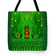 The Fantasy Girl In The Fauna  Tote Bag
