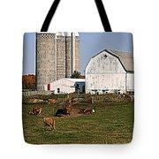 The Farm In Autumn Tote Bag