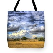 The Farm In The Summertime  Tote Bag