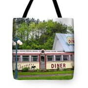 The Farmers Diner In Color Tote Bag