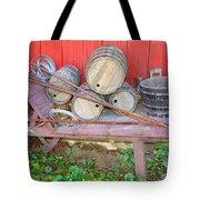 The Farmer's Old Wheelbarrow Tote Bag