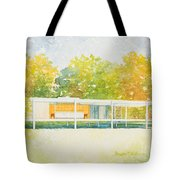The Farnsworth House Tote Bag