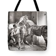 The Farrier, From Etudes De Cheveaux Tote Bag