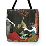 The Fashion For Lacquer Tote Bag