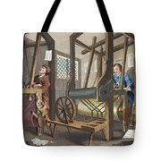 The Fellow Prentices At Their Looms Tote Bag