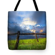 The Fence At Cades Cove Tote Bag